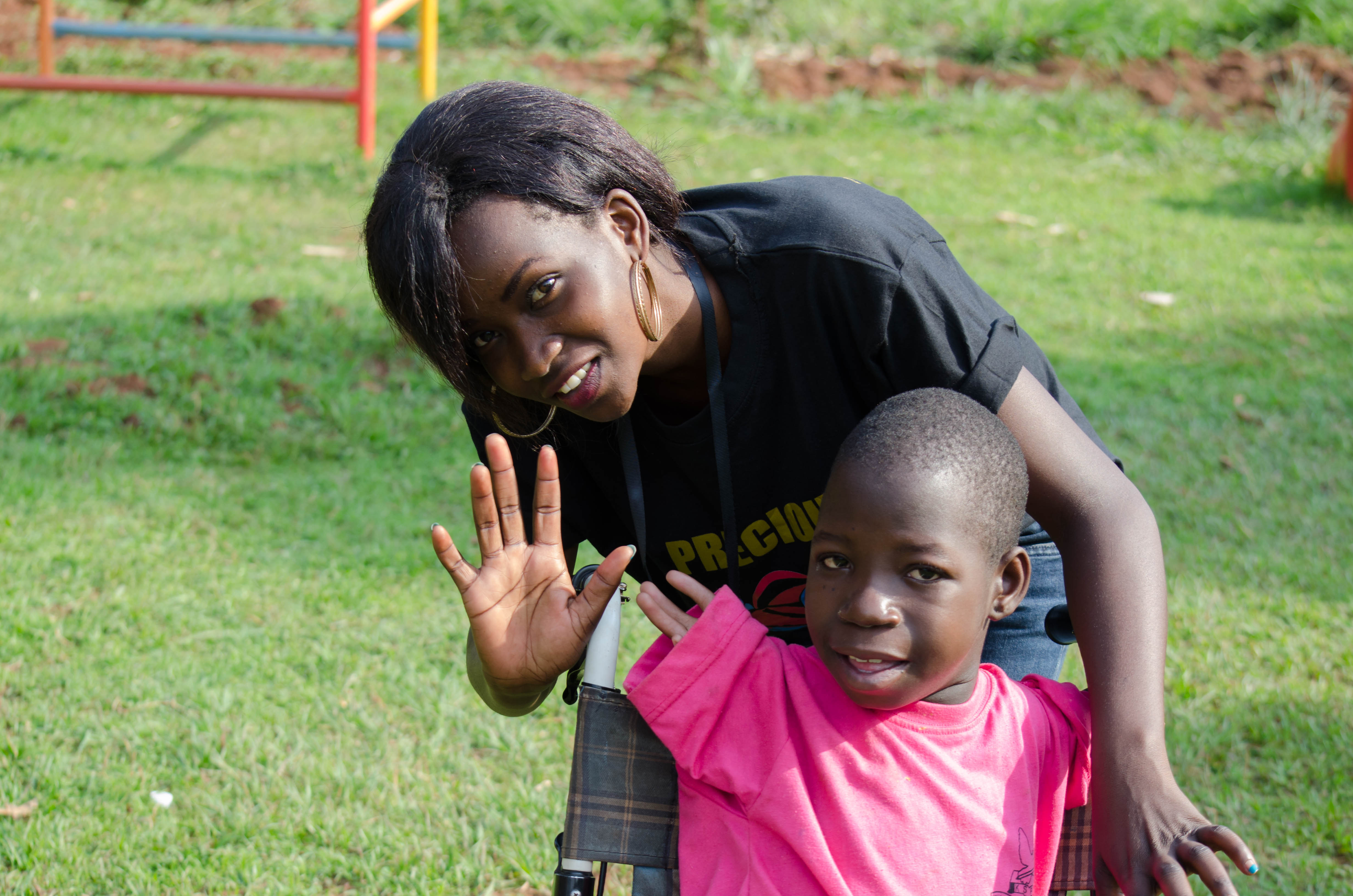 Love Uganda Foundation reaching out to the disabled children at Kampala School of the handicapped