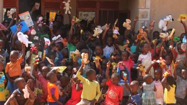 Uganda orphan wants to be a doctor after receiving gifts from Japan & Ukraine