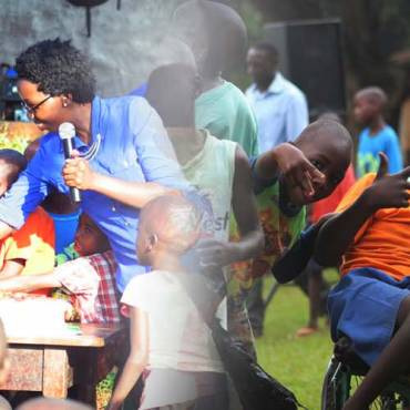 Disabled children of Uganda – CHRISTMAS Party at Kampala School for the disabled