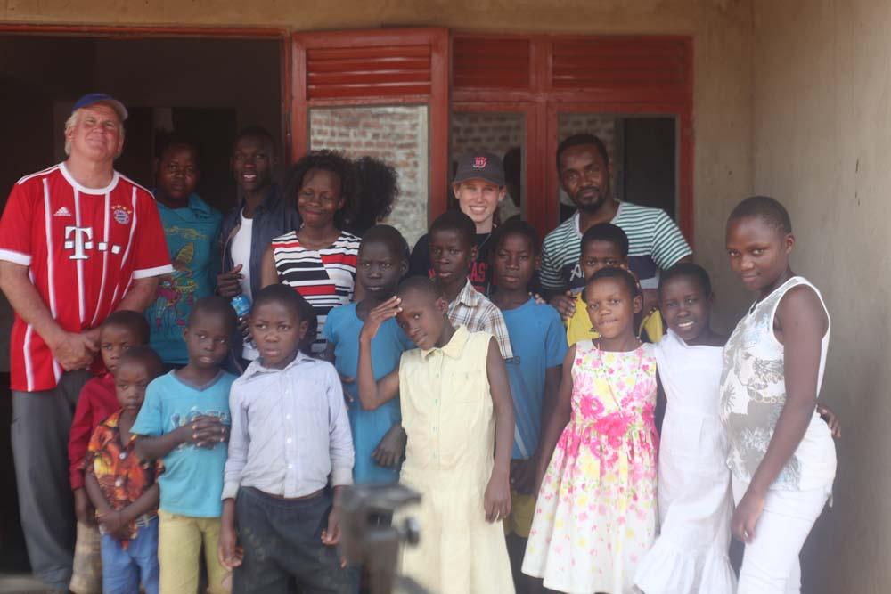 Orphans in Uganda celebrate birthday