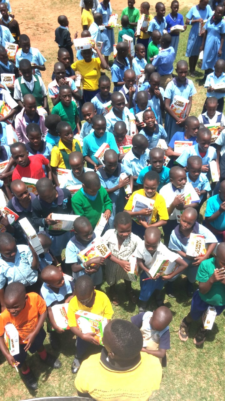 Reaching out to the orphaned children of Kateete Primary school