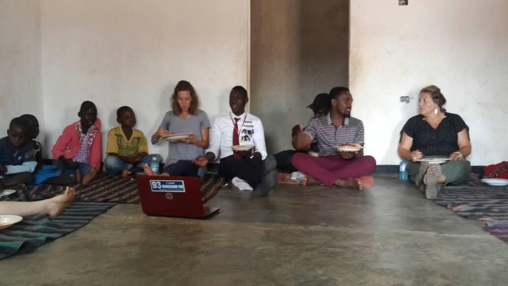 Uganda volunteers