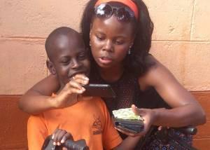 Disabled children in Uganda