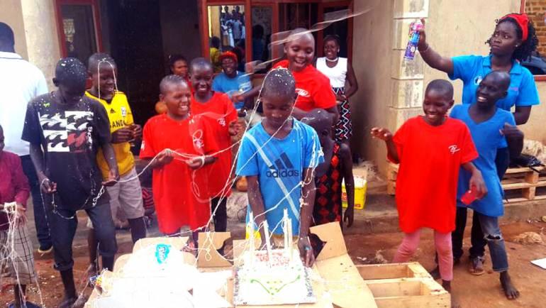 ROTARACT CLUB of Kampala Ssese Islands Visits Love Uganda Orphanage