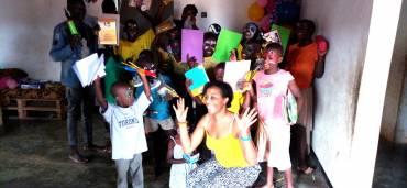 Astonishing memories as Priscilla- United Kingdom Citizen volunteers in Uganda for 2 weeks