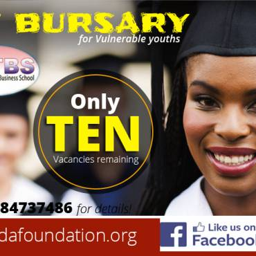 The 50% OFF bursary for vulnerable youths from Love Uganda Foundations and Datamine Technical School.
