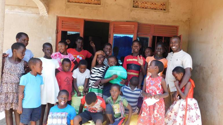 SERVICES OFFERED TO ORPHANS IN UGANDA.