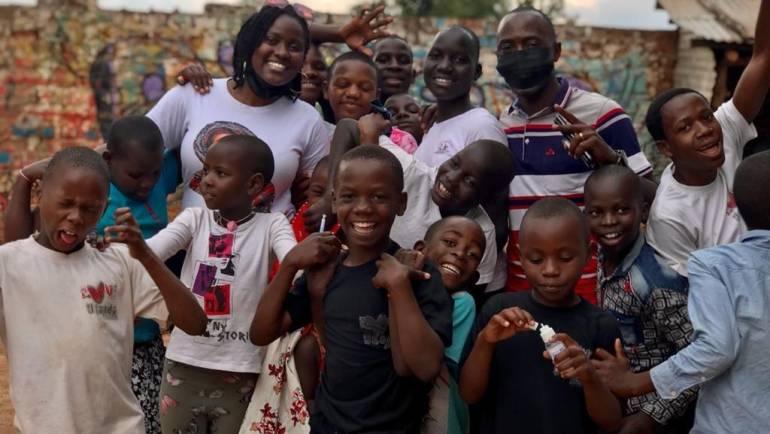 COVID-19 TO ORPHANS IN UGANDA