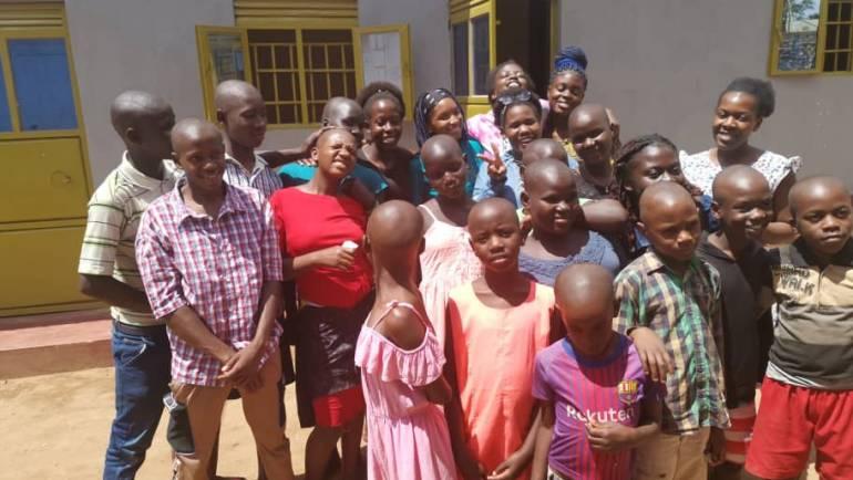 CATE'S VISIT AT LOVE UGANDA FOUNDATION ORPHANAGE HOME